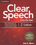 Clear Speech from the Start Student's Book with Integrated Digital Learning