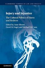 Injury and Injustice (Cambridge Studies in Law and Society)