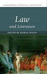 Law and Literature (Cambridge Critical Concepts)