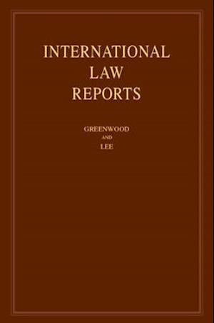 International Law Reports: Volume 184
