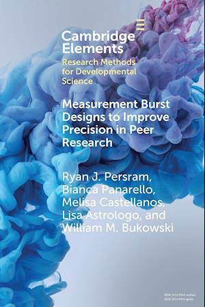 Measurement Burst Designs to Improve Precision in Peer Research