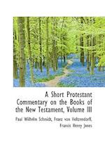 A Short Protestant Commentary on the Books of the New Testament, Volume III af Paul Wilhelm Schmidt