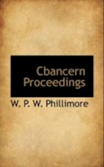 Cbancern Proceedings