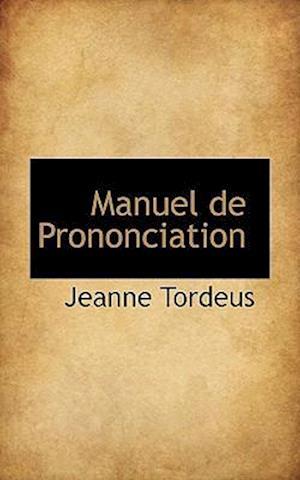 Manuel de Prononciation