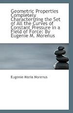 Geometric Properties Completely Characterizing the Set of All the Curves of Constant Pressure in A F