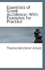 Essentials of Greek Accidence