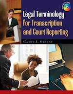 Legal Terminology for Transcription and Court Reporting (Book Only)
