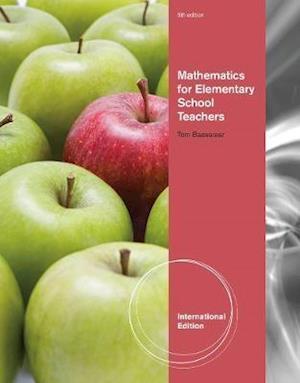 Bog, paperback Mathematics for Elementary School Teachers, International Edition af Tom Bassarear