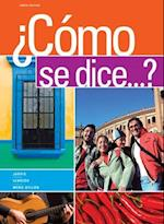 Student Activities Manual for Jarvis/Lebredo/Mena-Ayllon's Como Se Dice...? af Raquel Lebredo, Ana C Jarvis