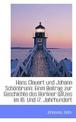 Hans Clauert Und Johann Schonbrunn af Johannes Bolte