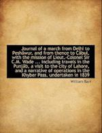 Journal of a March from Delhi to Peshâwur, and from thence to Câbul