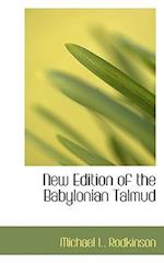 New Edition of the Babylonian Talmud