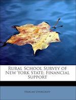 Rural School Survey of New York State; Financial Support af Harlan Updegraff