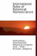 International Rules of Botanical Nomenclature