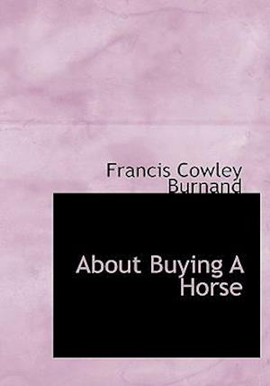 About Buying A Horse