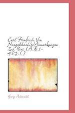 Carl Friedrich Von Naegelsbach's/Anmerkungen Zur Ilias (A.B.1-483.I.) af Georg Autenrieth