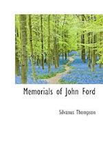 Memorials of John Ford af Silvanus Phillips Thompson