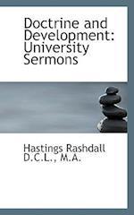 Doctrine and Development af Hastings Rashdall
