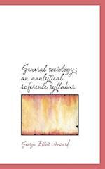 General sociology; an analytical reference syllabus af George Elliot Howard