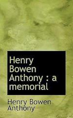 Henry Bowen Anthony af Henry Bowen Anthony