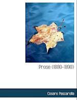 Prose (1880-1890) af Cesare Pascarella