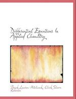 Differential Equations In Applied Chemistry