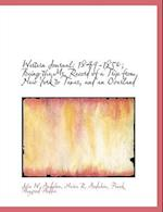 Western Journal af John W. Audubon, Maria R. Audubon, Frank Heywood Hodder