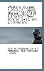 Western Journal af Frank Heywood Hodder, Maria R. Audubon, John W. Audubon