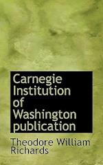 Carnegie Institution of Washington Publication