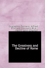 The Greatness and Decline of Rome af Alfred Eckhard Zimmern, Guglielmo Ferrero, Henry John Chaytor