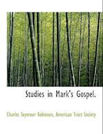 Studies in Mark's Gospel.