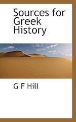 Sources for Greek History af G. F. Hill