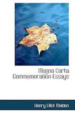 Magna Carta Commemoration Essays af Henry Elliot Malden