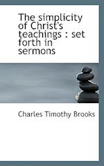 The Simplicity of Christ's Teachings