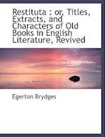 Restituta af Egerton Brydges