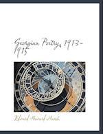 Georgian Poetry, 1913-1915 af Edward Howard Marsh