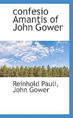 Confesio Amantis of John Gower af Reinhold Pauli, John Gower