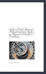 Kraft Und Stoff af Ludwig Bchner, Ludwig Buchner