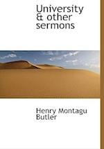 University & Other Sermons af Henry Montagu Butler