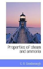 Properties of Steam and Ammonia af G. A. Goodenough