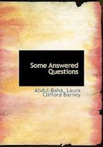 Some Answered Questions af Laura Clifford Barney
