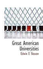 Great American Universities