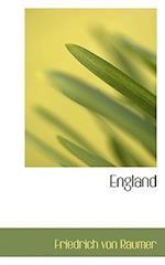 England af Friedrich Von Raumer