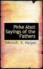 Pirke Abot Sayings of the Fathers af B. Halper
