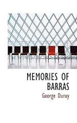 Memories of Barras af George Duruy