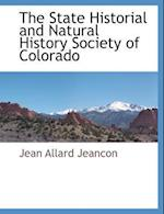 The State Historial and Natural History Society of Colorado af Jean Allard Jeancon