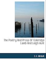 The Poetry And Prose Of Coleridge Lamb And Leigh Hunt