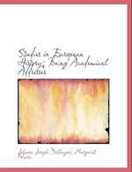 Studies in European History; Being Academical Addresses af Margaret Warre, Johann Joseph Dllinger