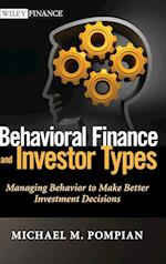 Behavioral Finance and Investor Types (Wiley Finance, nr. 745)