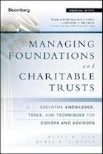 Managing Foundations and Charitable Trusts (Bloomberg Financial)
